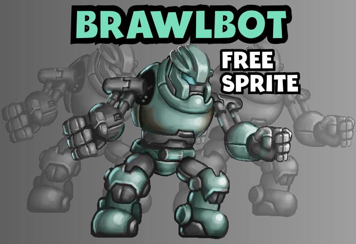 Robot Sprite | BrawlBot