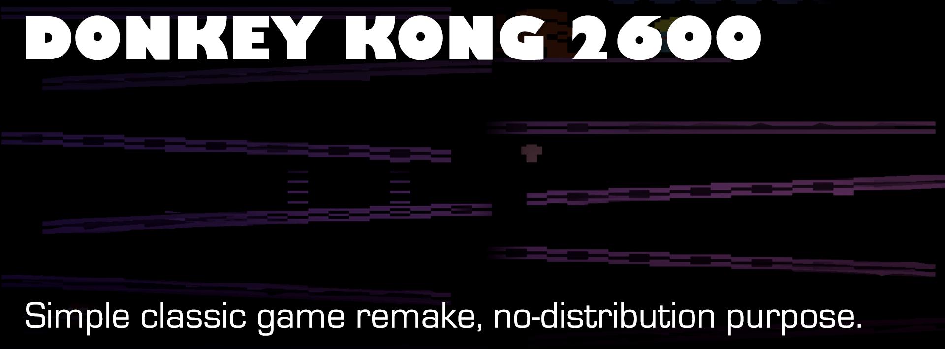 Remake - Donkey Kong 2600