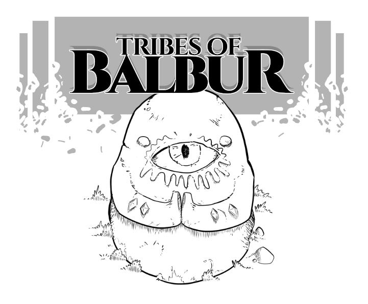 Tribes of Balbur