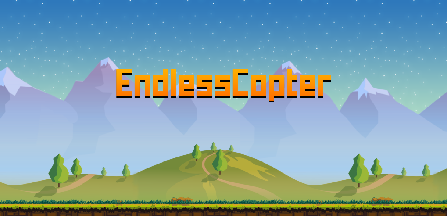 Endless Copter : Ruch