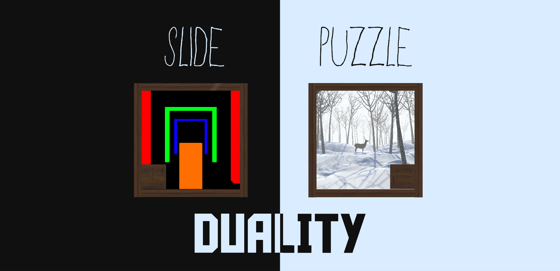 Slide Puzzle - Duality