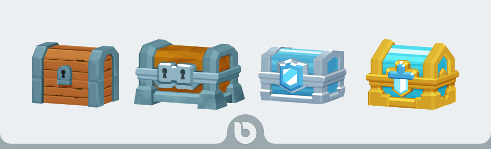 Game Chests With Open up Animation