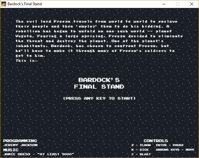 Bardocks Final Stand By Jeremyjackson89