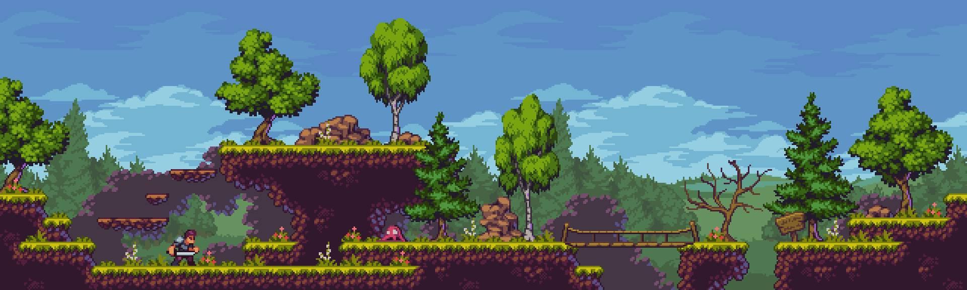 Fantasy Forest - Pixel Art Tileset
