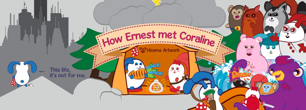 How Ernest met Coraline