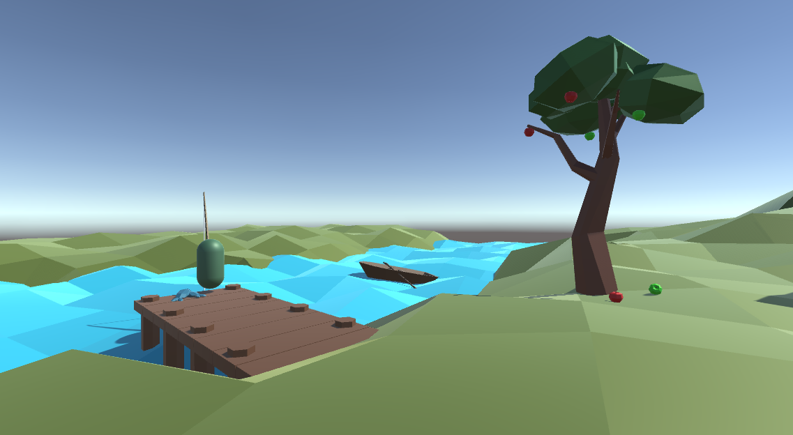 Small Low Poly Game