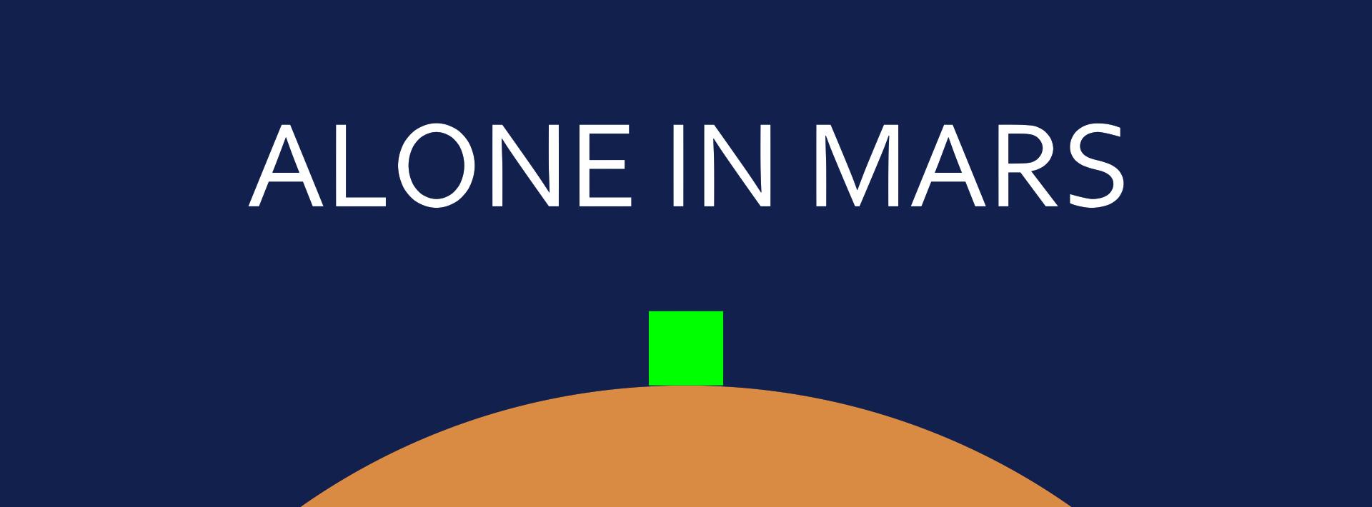 Alone In Mars