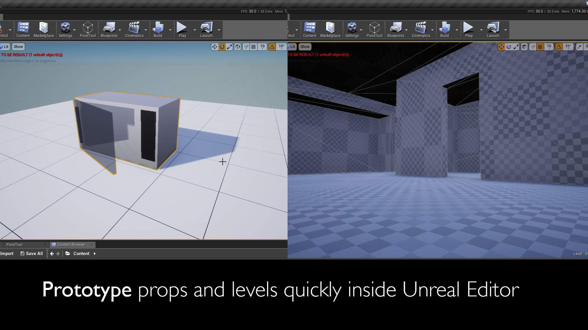 Mesh Tool for Unreal Engine by marynate