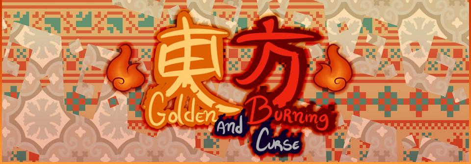 Touhou - Golden and Burning Curse