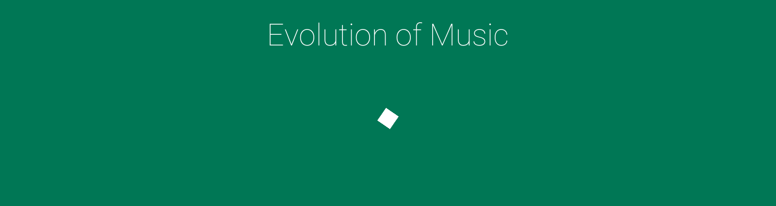 Evolution Of Music