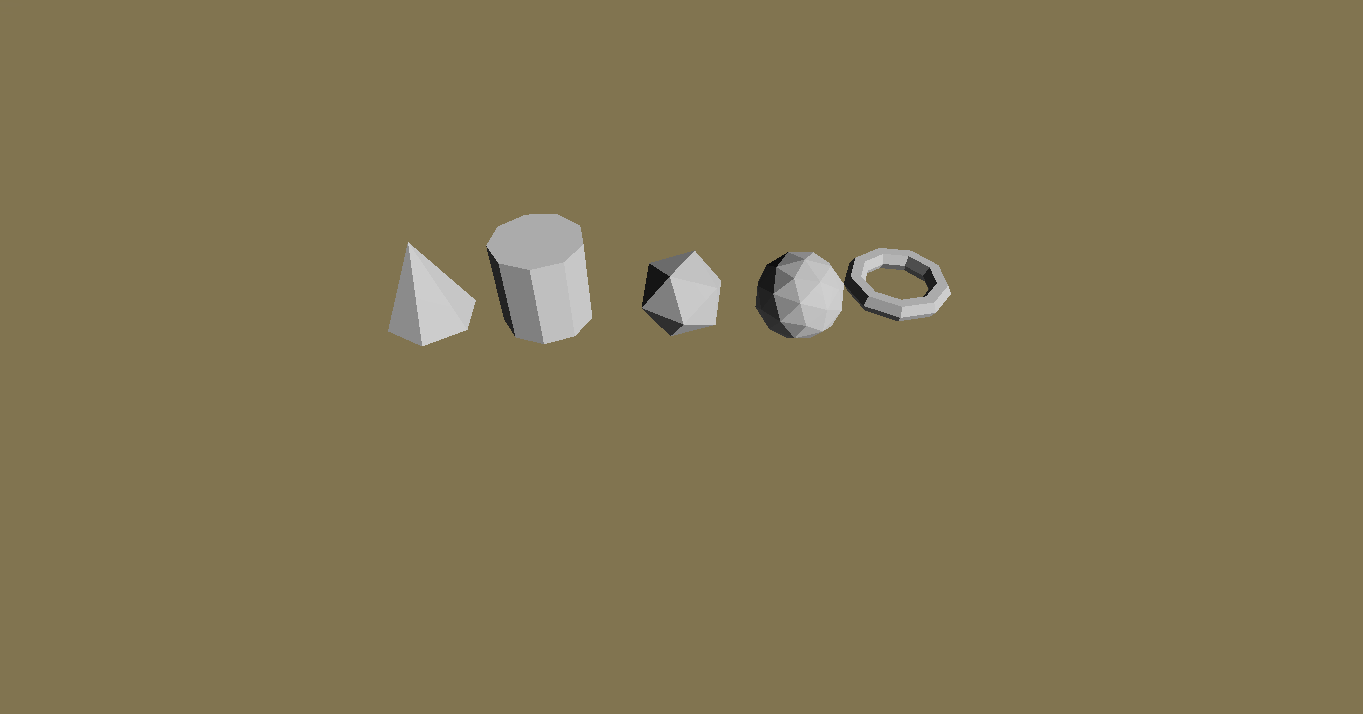 Alphagaming.nl Low-Poly Shapes Pack