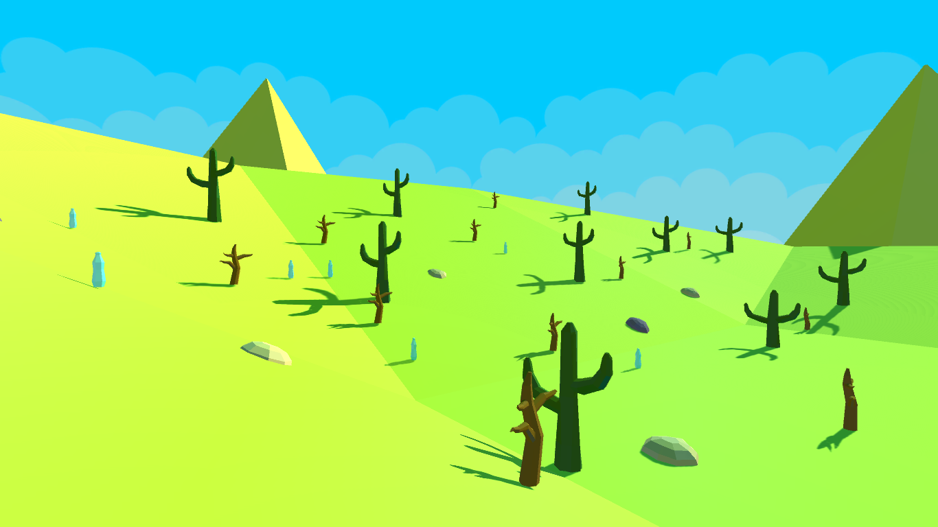 Nature Asset-Pack Low Poly