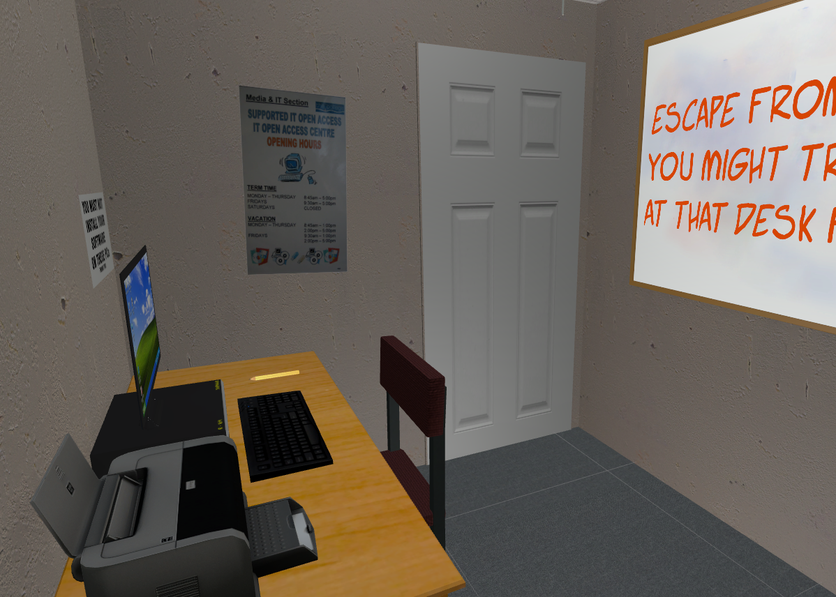 VR Escape Room: Office Escape by cspears1110
