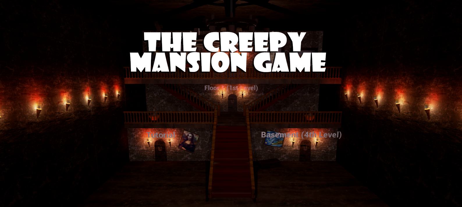 The Creepy Mansion Game