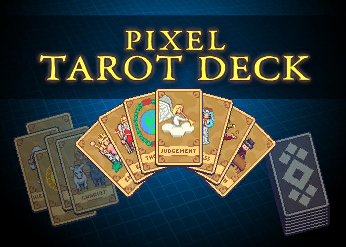 Pixel Tarot Deck
