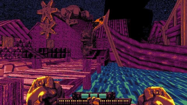 fight knight demo ship dock level