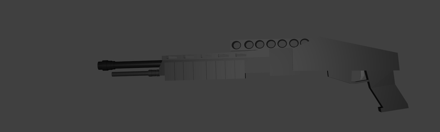 Low Poly FPS Gun Pack