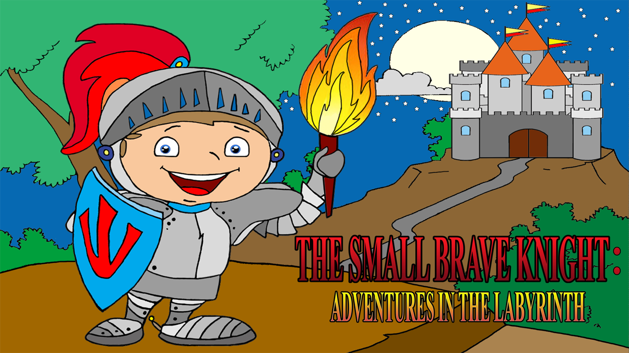 The Small Brave Knight: Adventure in the labyrinth