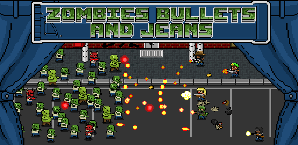 Zombies Bullets And Jeans