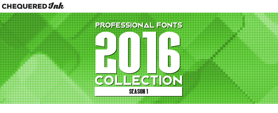 Professional Fonts 2016 Collection 1