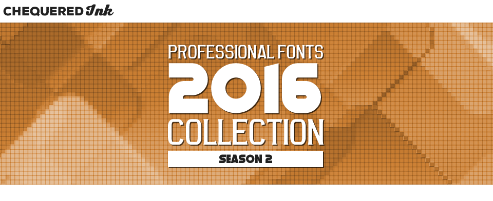 Professional Fonts 2016 Collection 2