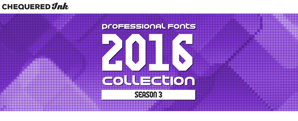 Professional Fonts 2016 Collection 3
