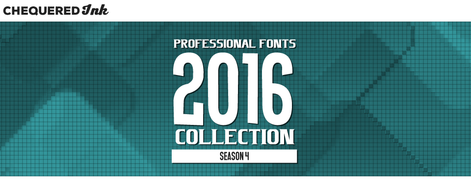 Professional Fonts 2016 Collection 4