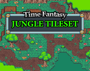 Jungle Tileset by finalbossblues