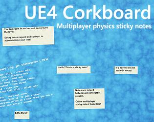 UE4 Corkboard by Impromptu Games