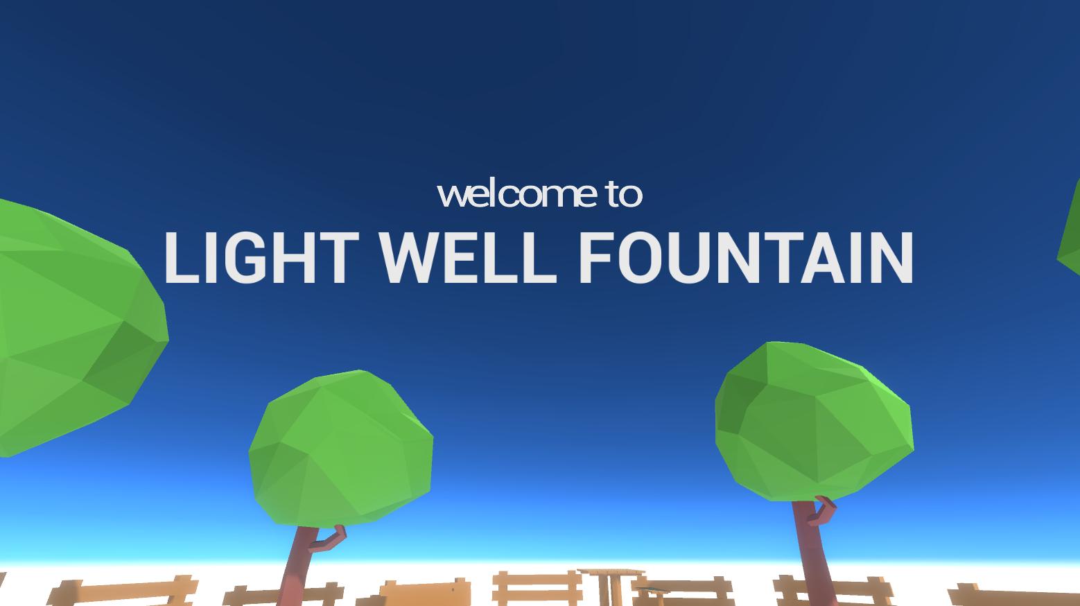 Light Well Fountain