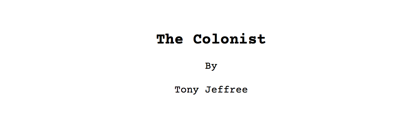 The Colonist