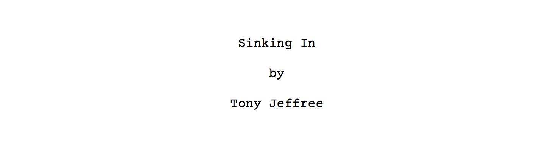 Sinking In