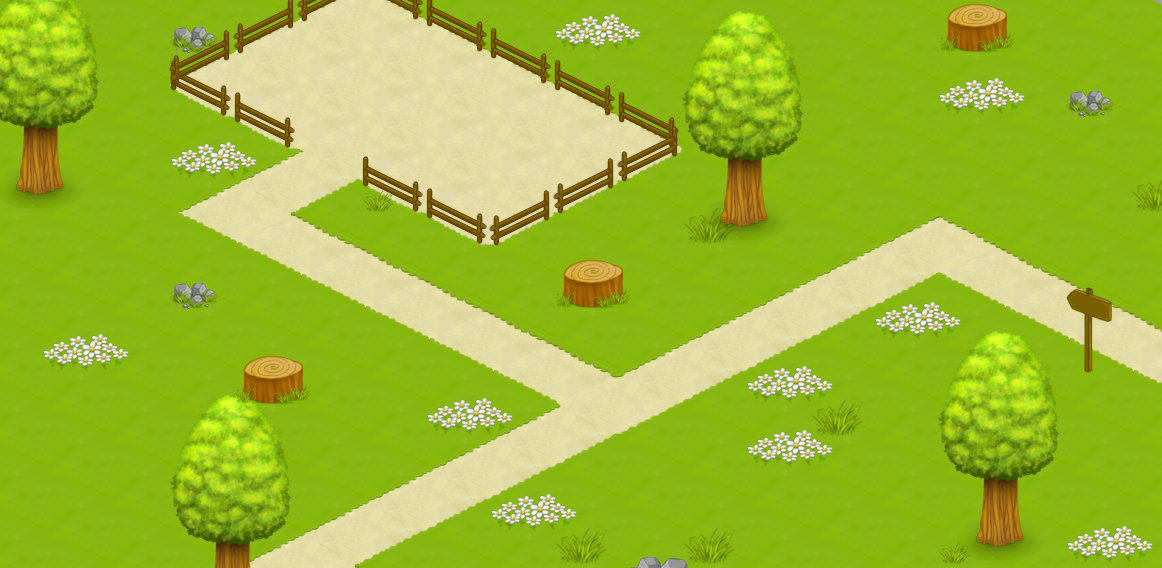 Isometric Nature Set #1