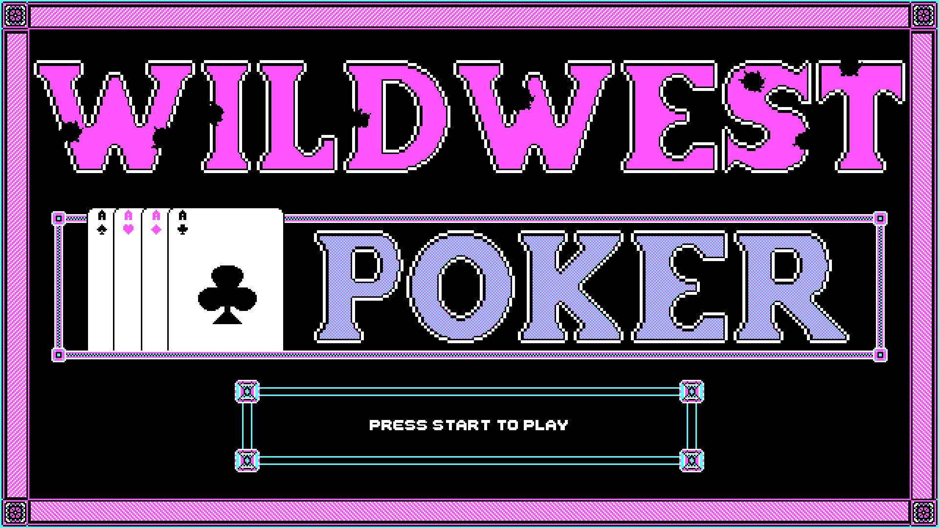 Wild West Poker by mdmnk