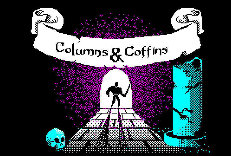 Columns&Coffins Roguelike for Pokitto