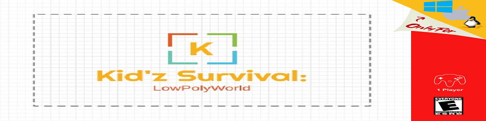 Kid'z Survival: Low Poly World