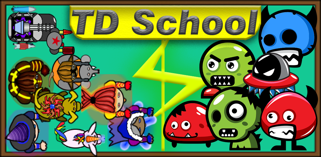TD School - Multiplayer Tower Defense