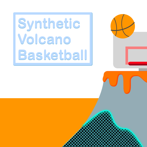 Synthetic Volcano Basketball