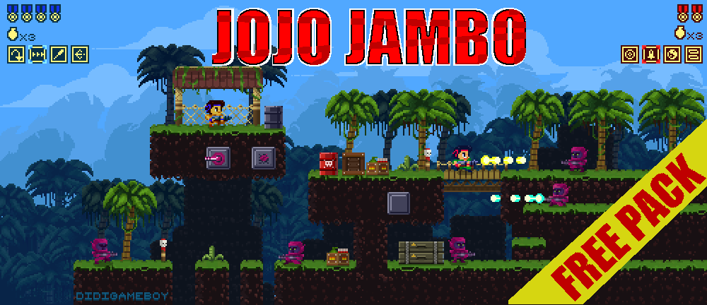 Jambo Jungle Free Sprites Asset Pack