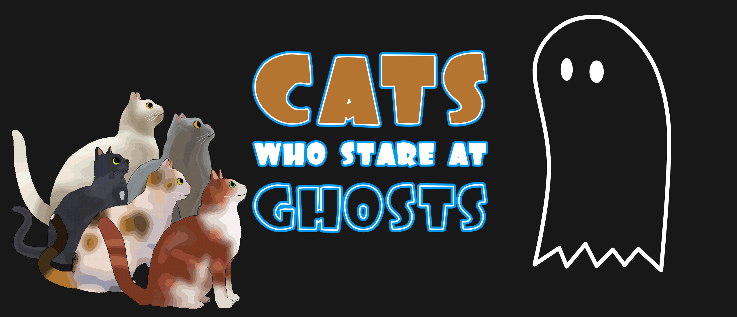 Cats Who Stare At Ghosts