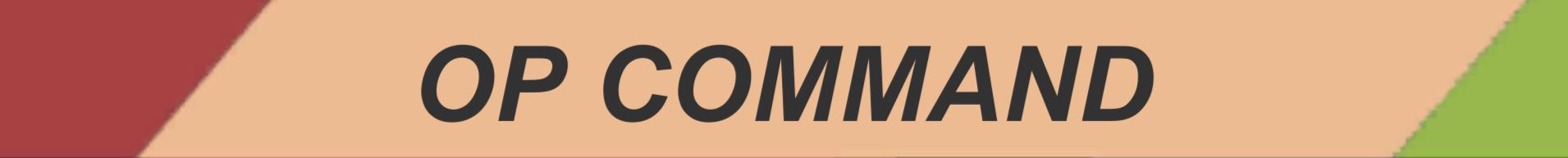 OP Command