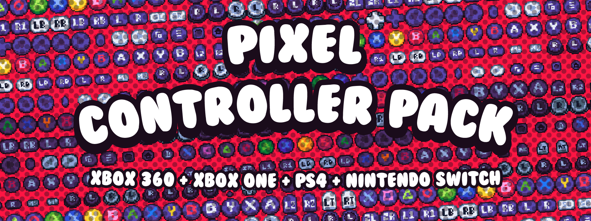 Pixel Controller Buttons (New Version Available!)