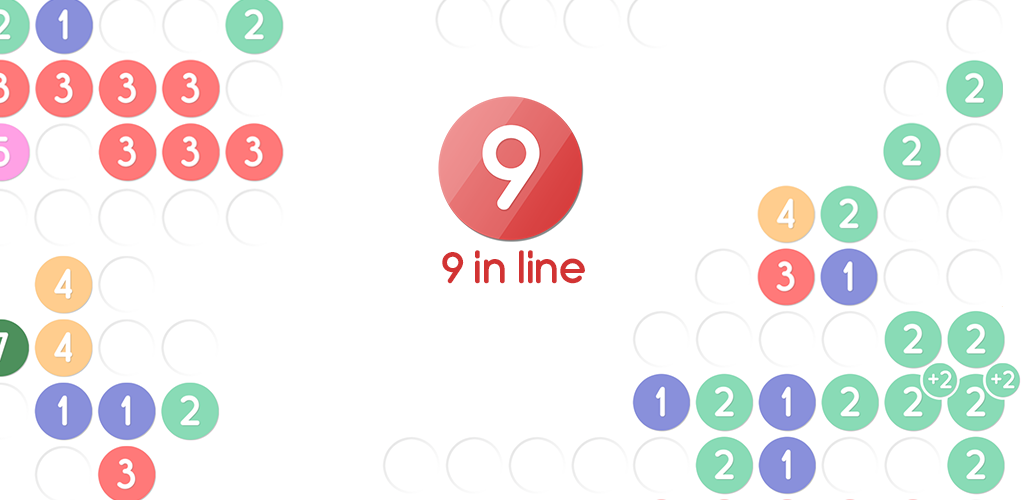 Nine In Line Puzzle