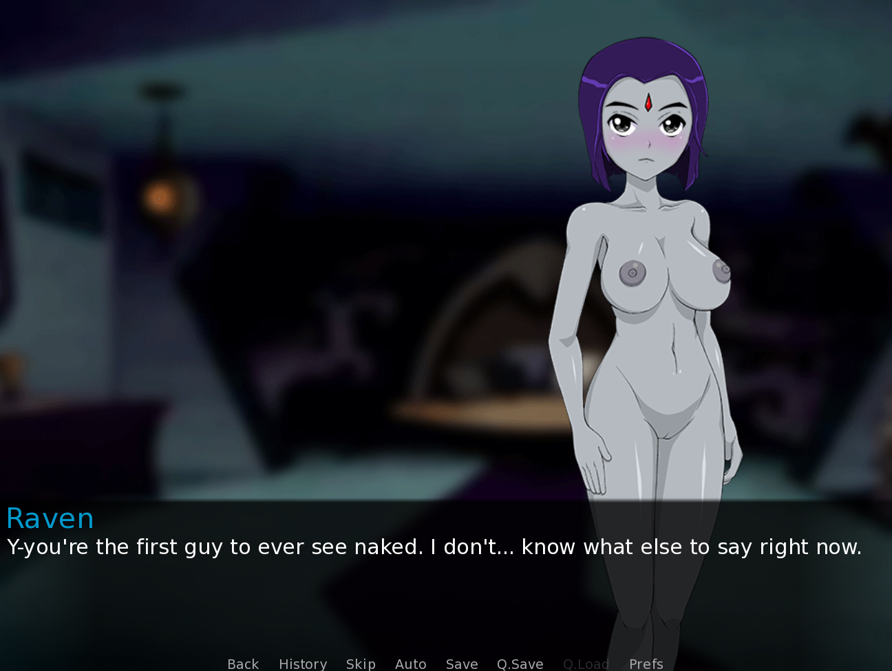 Demo Seduction A Night With Raven Teen Titans Fan Game -4813