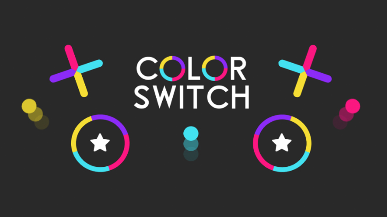 Color Rush!! (Color Switch Clone)
