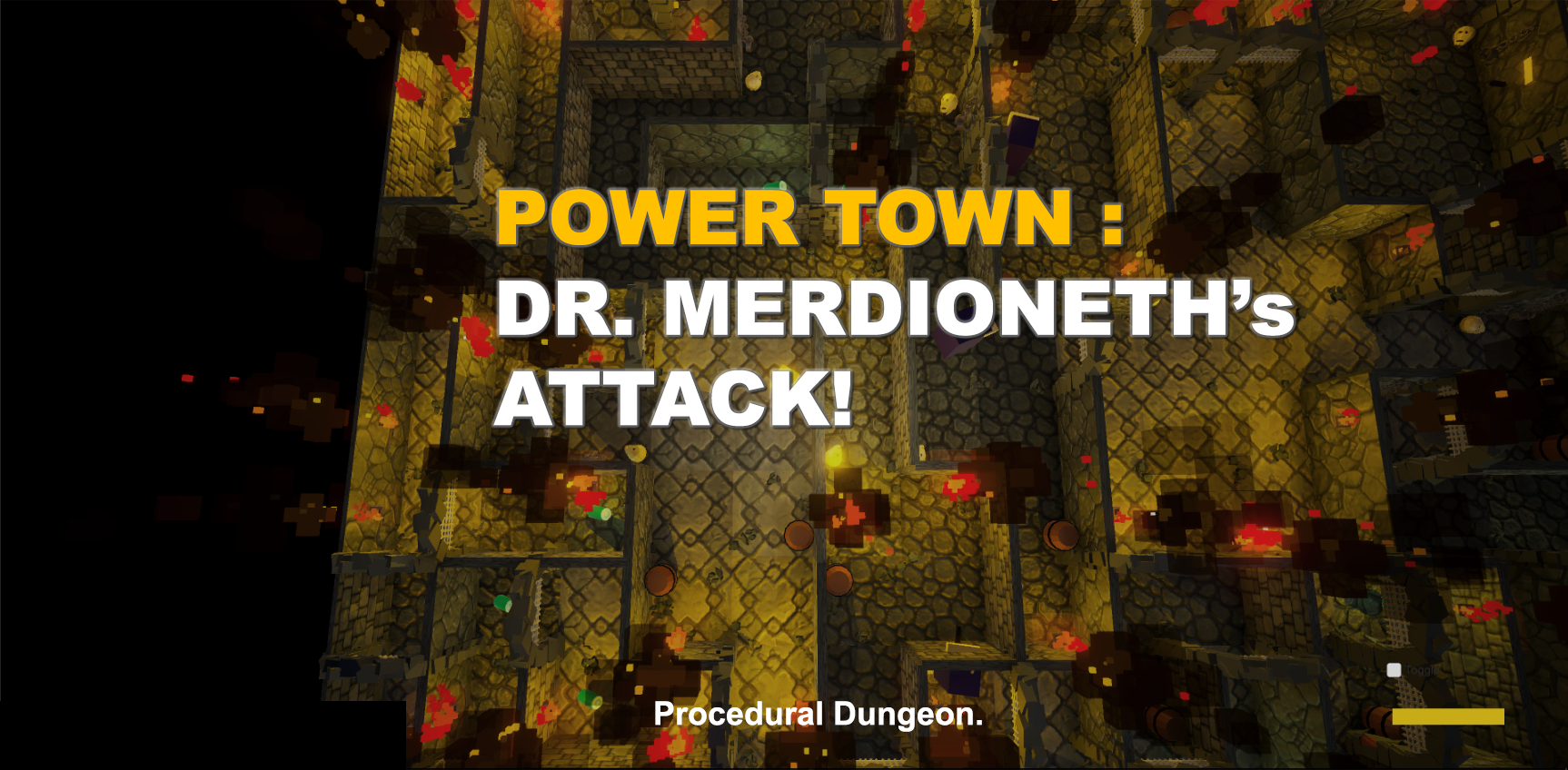 Power Town - Episode 1 : Dr. Merdioneth's Attack!
