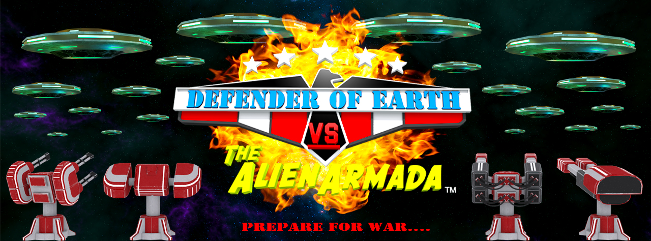 Defender Of Earth vs The Alien Armada