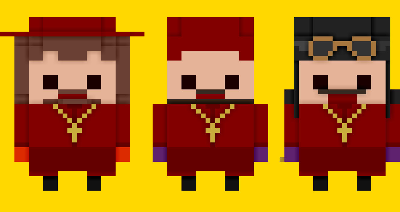 Spanish Inquisition Voxel
