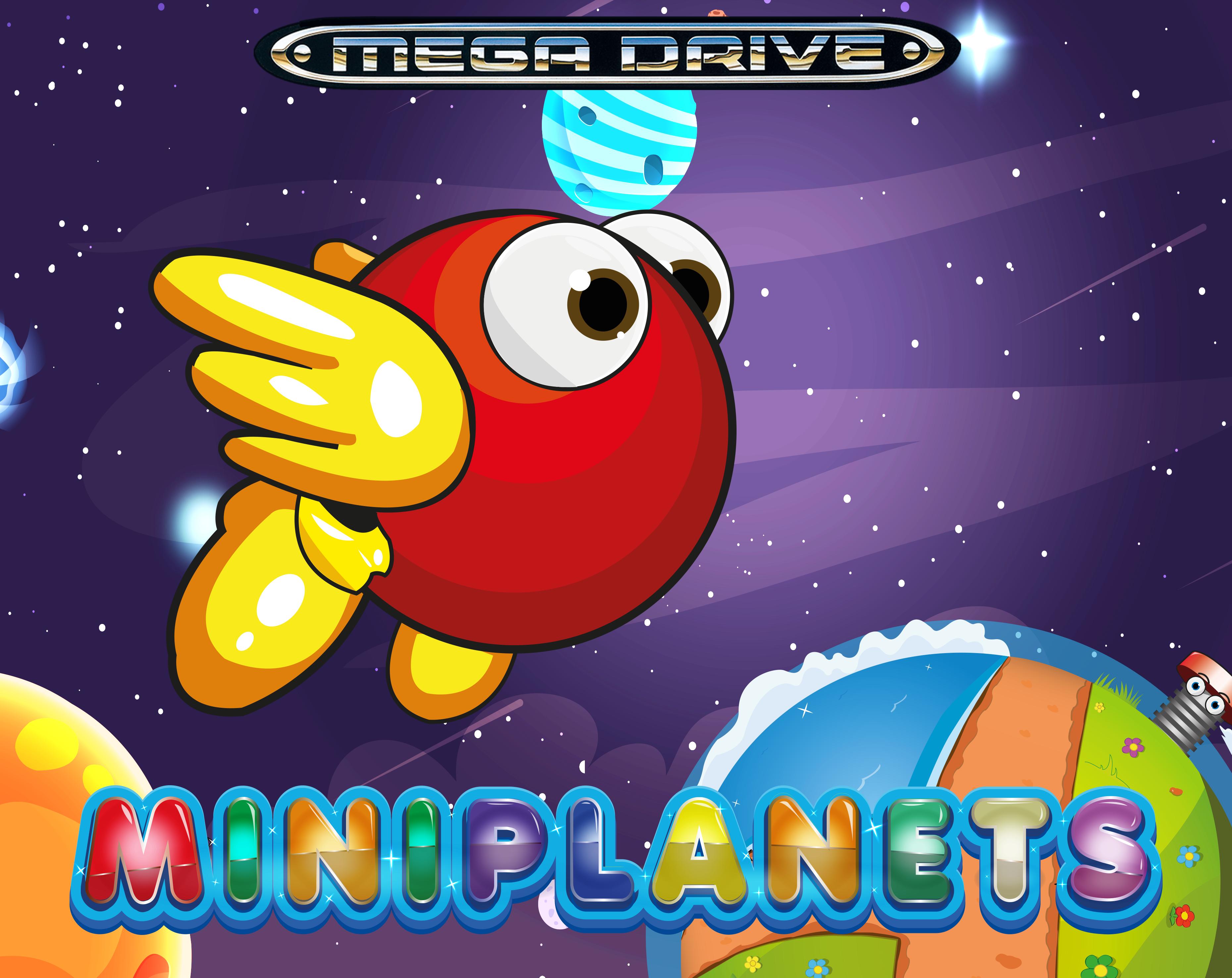 Genesis Homebrew: Miniplanets gets an Update | RetroRGB