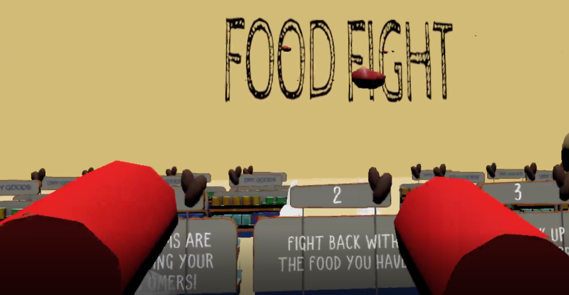 FOOD FIGHT VR
